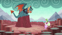 Spike's mother before Dragon Lord Torch S8E24