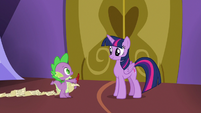"""Spike """"if we want to be at the hospital by lunch"""" S7E3"""