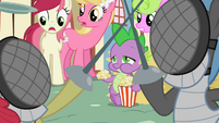 Spike eating popcorn S2E06