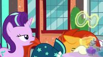"Starlight sarcastically remarks ""fruity"" S8E8"