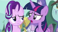 """Twilight Sparkle """"missing the 'friendship' part"""" S7E14"""