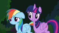 """Twilight and Rainbow """"in every Daring Do book"""" S4E04"""