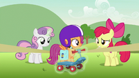 """Apple Bloom """"to finish your report"""" S7E7"""