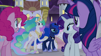 Celestia and Luna offering to help S9E17