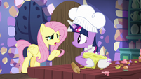 """Fluttershy """"are you cooking?"""" S7E20"""