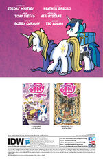 Friends Forever issue 26 credits page