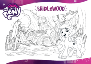 MLP G5 Hasbro website - Bridlewood Forest coloring page.png
