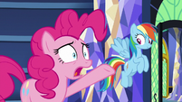 """Pinkie """"does anypony really believe that?!"""" S9E26"""