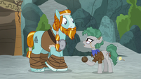 """Professor Fossil """"maybe in the past"""" S8E21"""