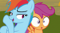 """Rainbow """"pause for dramatic effect"""" S8E20"""