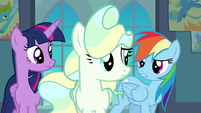 """Rainbow """"you need to work on your tricks"""" S6E24"""