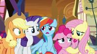 "Rainbow Dash ""this is bad!"" S9E2"