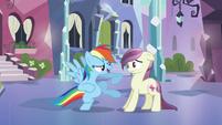 Rainbow Dash 'Gotta know something' S3E1