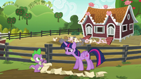"Spike ""step one, open the gate"" S6E10"