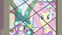 Spike getting a sneaky idea MLPBGE