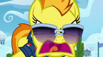 Spitfire shouting louder at Scootaloo S8E20
