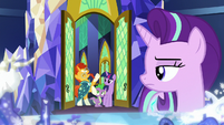 Sunburst excited to go on a mission with Starlight S8E8