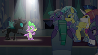 Thorax joins Spike in the spotlight S6E16