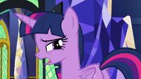 "Twilight Sparkle ""bye, I guess"" S9E26"