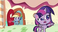 """Twilight Sparkle """"it's not quite level"""" PLS1E2a"""