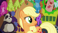 Applejack watches other ponies have fun S6E20
