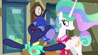 """Princess Luna """"all the mail in Ponyville"""" S9E13"""