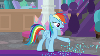 """Rainbow """"your boots are leaving sparkles"""" S8E17"""