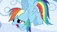 Rainbow --it's freezing out here!-- S6E2