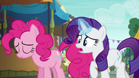 Rarity --that party cannon is your everything!-- S6E3