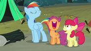 S03E06 Rainbow naśladuje Rarity