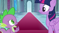 """Spike """"did she just prance?"""" S8E7"""