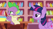 Spike --that's a relief-- S6E22