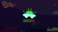 UFO enemy defeats 8-bit Sunset CYOE12a