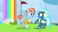 Windy introduces herself to Misty Fly S7E7