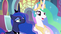 Celestia -I realize this is a lot to take in- S9E1