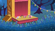 Cheerilee and all the participants onstage S1E18.png