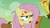 Fluttershy psyching herself up S7E20