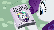 Punk Rarity on the cover of Vanity Mare S7E19.png