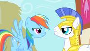 S01E22 Rainbow i strażnik Celestii