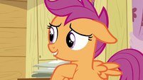 Scootaloo apologizes for yelling S7E21