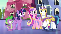 "Shining Armor ""we posted the extra guards"" S6E16"
