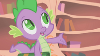 """Spike """"what if you're wrong, Twilight?"""" S1E09"""