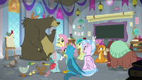 Students in Fluttershy's critter class again S8E1