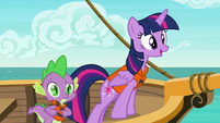 Twilight Sparkle finds what she's looking for S6E22