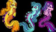 Unique Style Dazzlings-Sirens by StarryOak