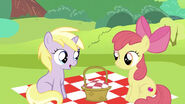 Apple Bloom meeting with Dinky