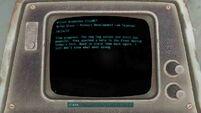 Fallout 4 Wilson Automatoys terminal entry 1