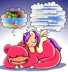 Princess Erroria Slowpoke dreaming.png