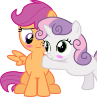 Vrxvctytrud6tm Numerous pieces of fan labor revolve around the fact that, as of the end of season two, scootaloo has not shown the ability to fly. https mlpfimroleplay fandom com wiki scootaloo sweetie belle