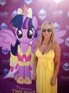 Tara strong with princess twilight
